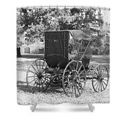 Automobile Duryea, 1893-94 Shower Curtain