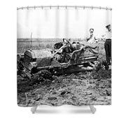 Automobile Race, 1909 Shower Curtain