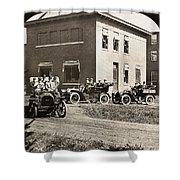 Automobiles, 1906 Shower Curtain