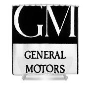 Automobiles Gm Logo Shower Curtain