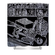 Autopsy Shower Curtain
