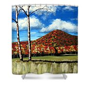 Autum Hill Shower Curtain