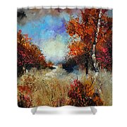 Autumn 5641 Shower Curtain