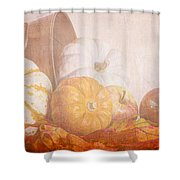Autumn Abundance  Shower Curtain