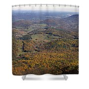 Autumn Across The Shenandoah Shower Curtain