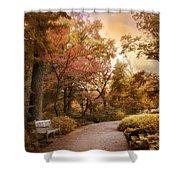 Autumn Aesthetic Shower Curtain