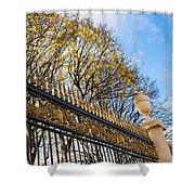 Autumn Air-kiss Shower Curtain