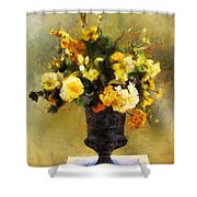 Autumn Antiqua Shower Curtain
