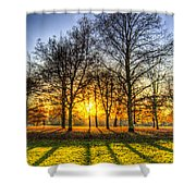 Autumn Arrives Shower Curtain