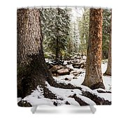 Autumn At Gore Creek 5 - Vail Colorado Shower Curtain by Brian Harig