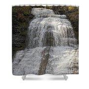 Autumn At Montour Falls Shower Curtain