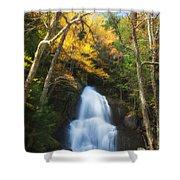 Autumn At Moss Glenn Falls Shower Curtain