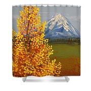 Autumn At Mt Shasta Shower Curtain