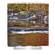 Autumn At Olmsted Falls Shower Curtain