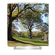 Autumn At Runnymede Uk Shower Curtain