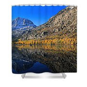 Autumn At Silver Lake Shower Curtain