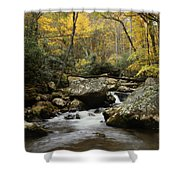 Autumn At Stony Creek Shower Curtain