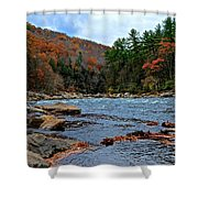 Autumn At The Youghiogheny Shower Curtain