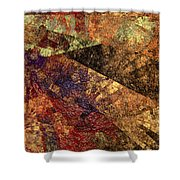 Autumn Bend Shower Curtain by Andee Design