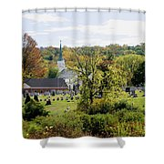 Autumn Blessings Shower Curtain