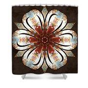 Autumn Blooming Shower Curtain by Derek Gedney