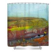 Autumn Bog Shower Curtain