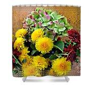 Autumn Boquet I Shower Curtain