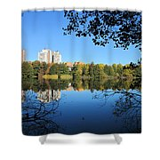 Autumn By The Lake 6 Shower Curtain