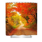 Autumn Cameo 2 Shower Curtain by Terri Gostola