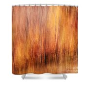 Autumn Canvas Shower Curtain