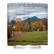 Autumn Chocorua Shower Curtain