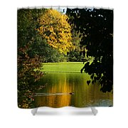 Autumn Colors 2 Shower Curtain