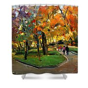 Autumn Colors - Lugano Shower Curtain