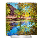 Autumn Colours In Moab Shower Curtain
