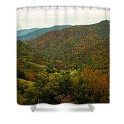 Autumn Comes To Appalachia  Shower Curtain