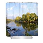 Autumn Comfort Shower Curtain