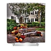 Autumn Display At The Sagamore Resort Shower Curtain