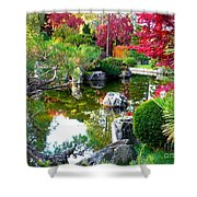 Autumn Dream Shower Curtain by Carol Groenen