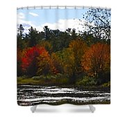 Autumn Dreaming Adwc Shower Curtain