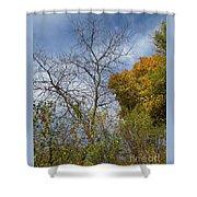 Autumn Ending Shower Curtain