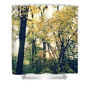 Autumn Evening Shower Curtain