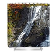 Autumn Falls Shower Curtain
