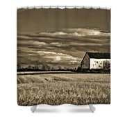 Autumn Farm II Shower Curtain