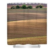Autumn Fields Of Moravia Shower Curtain