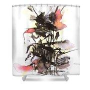 Autumn Flower Shower Curtain
