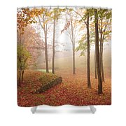 Autumn Fog Shower Curtain