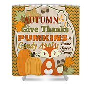 Autumn Gifts-a Shower Curtain