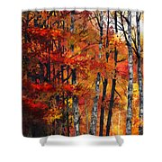 Autumn Glory I Shower Curtain