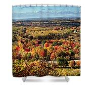 Autumn Glory Landscape Shower Curtain