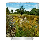 Autumn Golf Shower Curtain